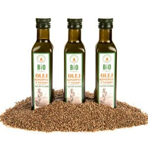 Hemp oil from seeds 250ml
