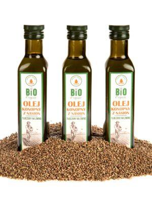 Olej konopny z nasion 250ml
